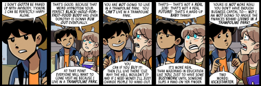 i wasn't expecting this conversation to last so many strips, but i keep enjoying it, so