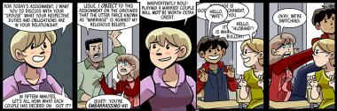 last panel is how everyone's slashfic starts