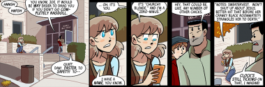 oh hey it's a strip featuring danny, joe, and joyce