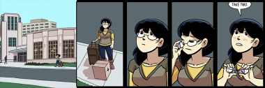 this is the second strip to be titled 'take' and the url REALLY WORKED OUT