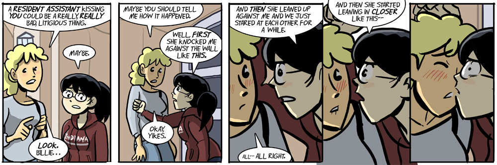 dumbing of age: a sexy cliffhanger every friday