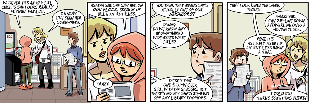 mandy and grace are apparently dumbing of age's greek chorus