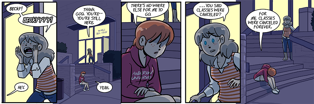 of course i had to make becky so damn likeable so that these strips would punch me in the gut as i write them