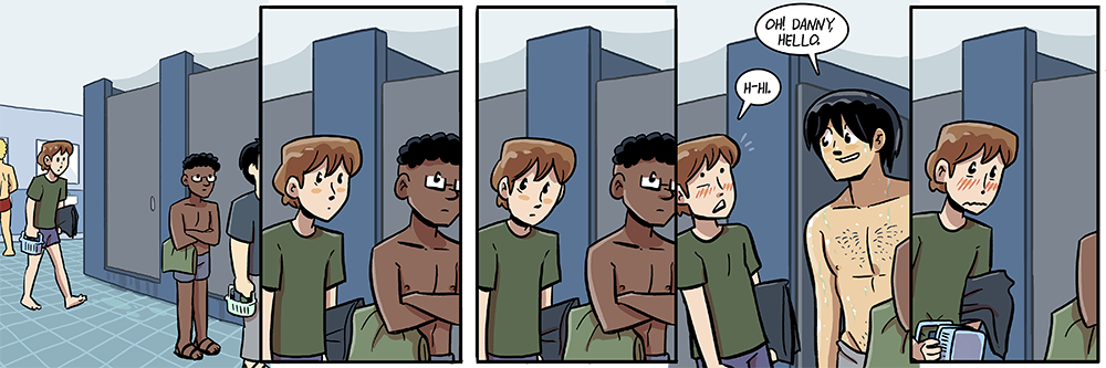 have a bunch of male characters you rarely see in this strip