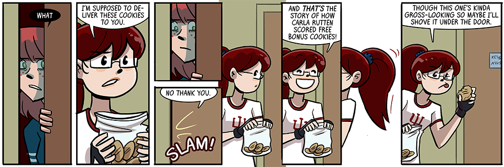 my first dumbing of age strip drawn as a father, not sure anything's really changed yet