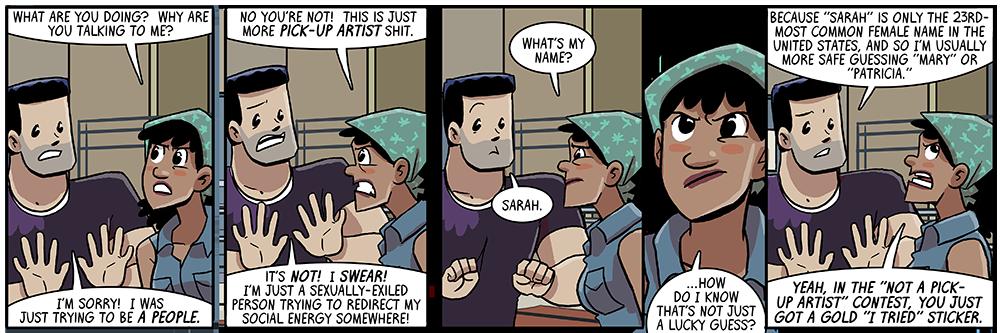 it's in comic sans