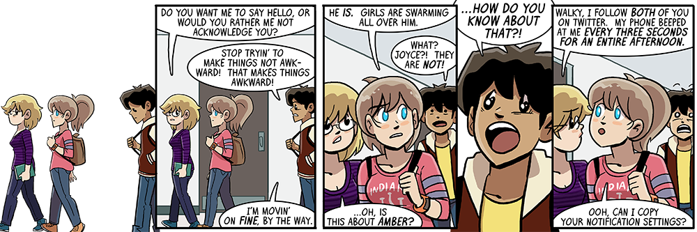 yeah i was thinkin' that the entire time i was writing those twitter strips, like, YOU GUYS