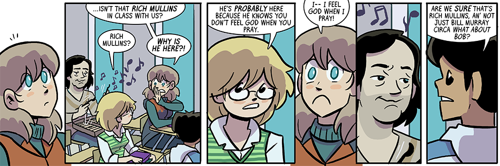 the impetus for the storyline title is not usually so immediately obvious in the very first strip