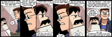dumbing of age book 10: there is no god, you were just bad at things