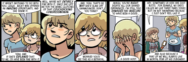 awful lotta blondes in this strip