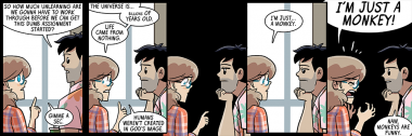 dumbing of age book 11: I'M JUST A MONKEY