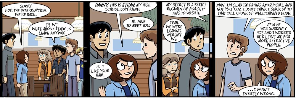ethan left his awkward teenage years like a boss