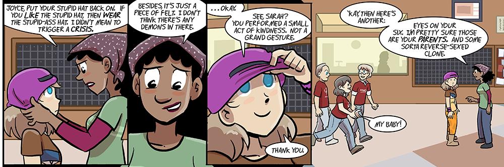panel three: most adorable joyce ever
