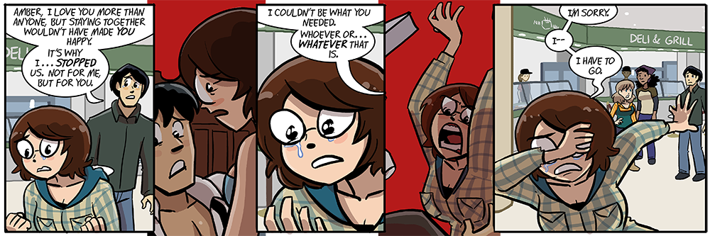 oh boy, amber's collected a new red flashback panel