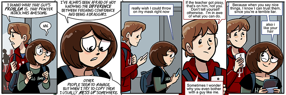 guess which one of these panels is autobiographical