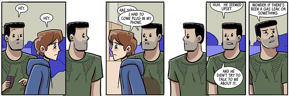 a subtle acknowledgement of our webcomic's new showrunner