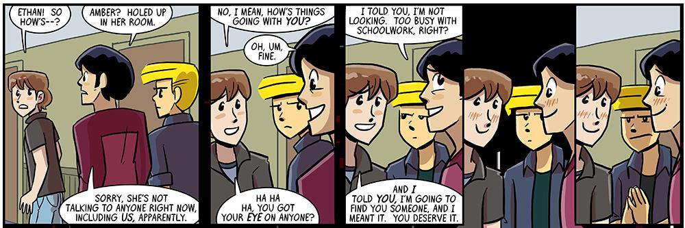 last panel: snapshot summary of an entire arc????
