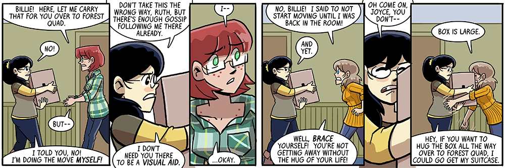 dumbing of age book 8 title: box is large