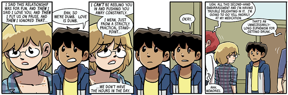 Dumbing of Age Book 8: Love Is Dumb