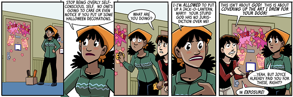 by far joyce's most evil act in this webcomic so far