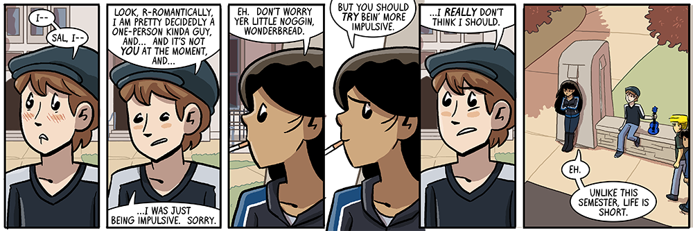 dumbing of age book 10: unlike this semester, life is short
