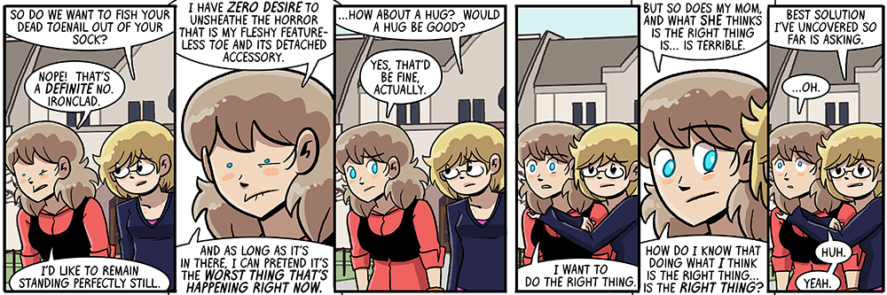 and then joyce stood there perfectly still for the rest of the comic and i got to copy-paste her from then on