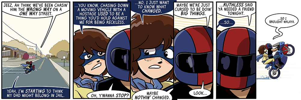 a wheelie is how you know she likes you