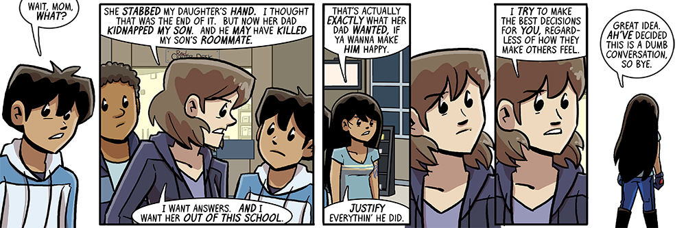 finally more time with other dumbing of age parents