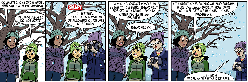 dumbing of age book 11: how dare you implicate me in your wizardry