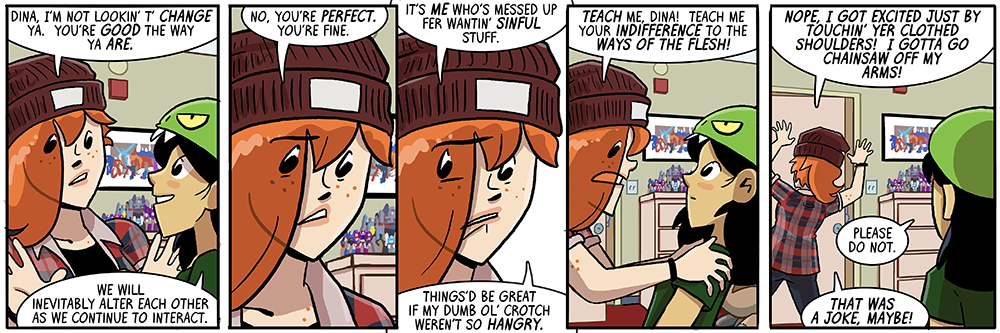 dumbing of age book 11: things'd be great if my dang ol' crotch weren't so hangry