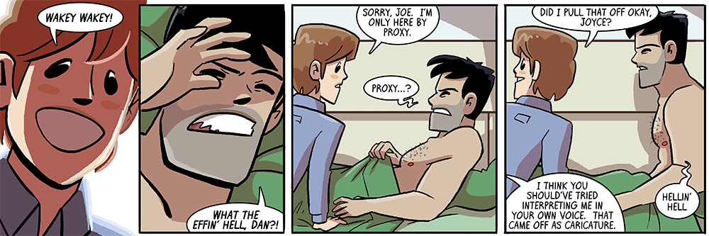 eventually every character is going to get a WAKEY WAKEY panel