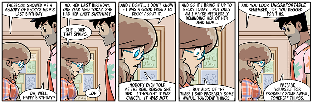 dumbing of age book 11: prepare yourself for probably some awful, tonedeaf things